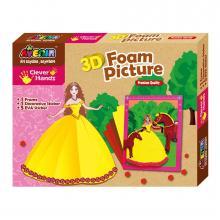 Bino Pěnové 3D obrázky - princezna
