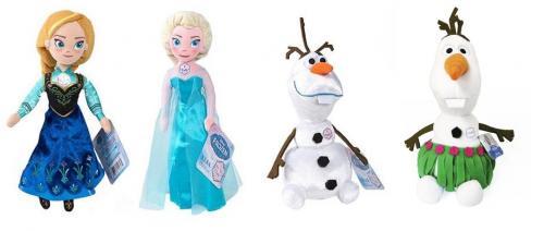 ADC Blackfire Mluvící plyšová hračka FROZEN - Ledové království Anna/Elsa/Olaf