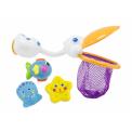 Sassy Pelikán s hračkami do koupele