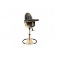 Jídelní židlička Bloom Fresco Chrome Gold yellow (special luxury edition), bez podložky