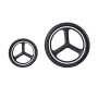 """Flexibilní, luxusní a spolehlivý městský kočárek Beli 4 je dokonalým příslušenstvím do města. Beli 4 stojí na čtyřech """"All Terrain"""" kolech, která jsou perfektní pro nerovné a dlážděné cesty."""