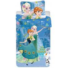 Jerry Fabrics Bavlněné povlečení Frozen cake Ledové království 140x200 cm