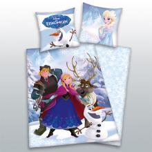 Herding Bavlněné povlečení Frozen Ledové Království Anna a Kristoff 140x200 cm