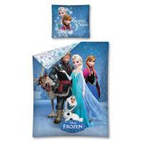 Detexpol Bavlněné povlečení Frozen Ledové Království Sisters Forever 140x200 cm