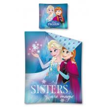 Detexpol Bavlněné povlečení Frozen Ledové Království magické sestry 140x200 cm
