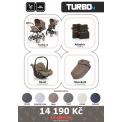 Kočárek ABC Design Set Turbo 4 2017