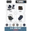 Kočárek ABC Design Set Turbo 6 2017