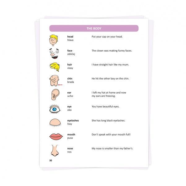 dfb1cd5e1073 Interaktivní anglický slovník z edice Kouzelné čtení s jehož pomocí se děti  zábavnou formou učí základní
