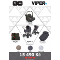 Kočárek ABC Design Set Viper 4 2017