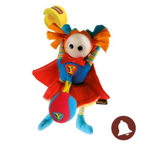 Yookidoo Chrastítko Superholka