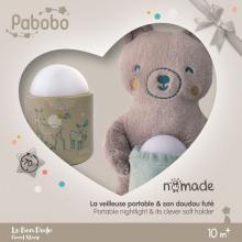 Pabobo automatické noční světlo Nomade GIFT BOX Bear