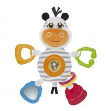 Chicco Zebra na kroužku, plyšová