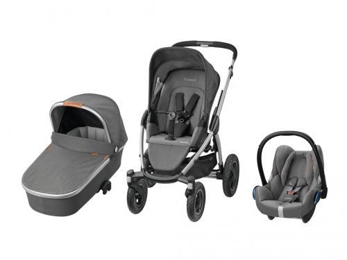 Kočárek Maxi-Cosi Mura 4 Plus + hluboká korba Oria + autosedačka Maxi-Cosi CabrioFix