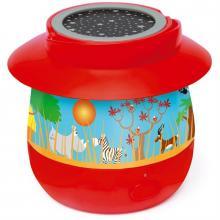 Scratch Dětská lampička s projektorem Safari