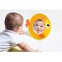 Hrací deka s polštářkem pro hru na bříšku. Samostatně stojící zrcátko a unikátní polštářek ve tvaru kraba podněcují dítě ke zvedání hlavičky a ke hře na bříšku.