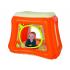 Nafukovací hrací stan, ohrádka a prolézačka s motivy kočiček. Stan je možné pro ještě větší zábavu naplnit míčky (nejsou součástí výrobku).  Pohodlné dno ve formě nafukovací matrace a opěrka zad ve formě podkovy.