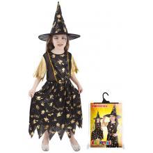 Karnevalový kostým čarodějnice/Halloween 423121, vel. S