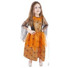 Karnevalový kostým oranžový Halloween vel. M