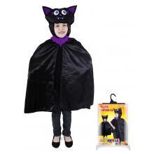 Karnevalový kostým plášť netopýr Halloween