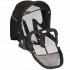 """V ceně kočárku je celohliníkový 4-kolový tandemový podvozek Delta-4T s předními otočnými koly, komfortní hluboké lůžko Figo (2 ks), sportovní odnímatelná a otočná plně polohovatelná sedačka Vario se stříškou, letním nánožníkem a výměnným Color Setem (2 ks), autosedačka Mimmo (2 ks), """"clip-A-go"""" adaptér na autosedačku (2 ks)."""