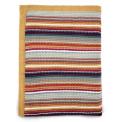 Mamas & Papas Pletená deka barevné proužky