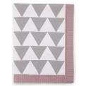 Mamas & Papas Pletená deka geometrický vzor