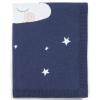 Mamas & Papas Pletená deka noční obloha modrá
