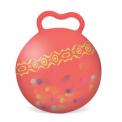 B.toys Skákací míč Hop n' Glow červený 47-53 cm