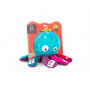 Hudební chobotnice hraje 6 různých melodií na 8 hudebních nástrojů. Zmáčkněte chapadlo a začne hrát vybraný instrument. Zmáčknutím hlavy hraje jiná melodie. Zatřesením hračkou hudba utichne.