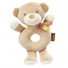 Fehn Rainbow měkký kroužek medvídek