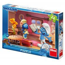 Dino puzzle 24 Šmoulové 3 Chvilka poezie
