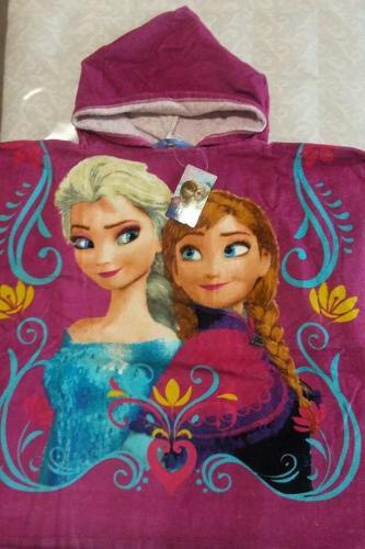 Setino pončo dětské s kapucí Frozen Ledové království