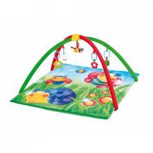 Canpol babies hrací deka s hrazdičkou Happy Garden