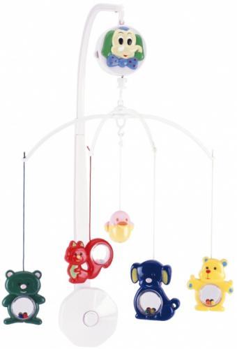 Canpol babies kolotoč plastový veselé ZOO