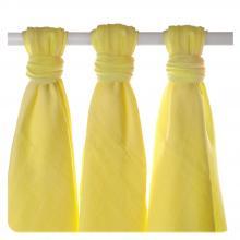 KIKKO Bambusové pleny XKKO BMB Lemon 70x70cm - 3ks