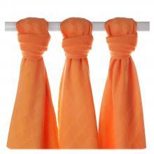 KIKKO Bambusové pleny XKKO BMB Orange 70x70cm - 3ks