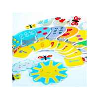 Meadow Kids Pěnové samolepky do vany Balóny 1-10