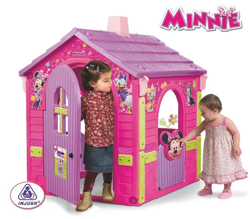 Injusa d tsk domek country house minie sl n for Casitas de jardin de plastico