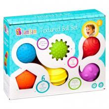BamBam Sada 6 senzorických míčků