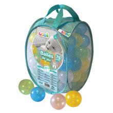 Ludi míčky transparentní 75 ks