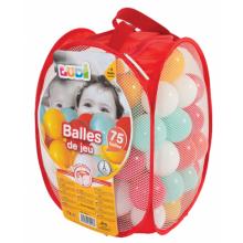 Ludi míčky červené 75 ks