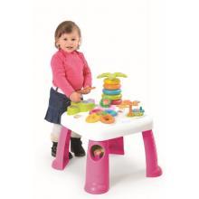 Smoby Cotoons Multifunkční hrací stůl růžový