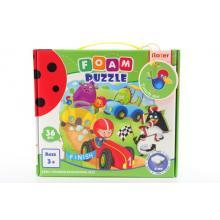 Roter Käfer Pěnové puzzle 36 dílků Závody