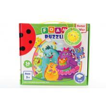 Roter Käfer Pěnové puzzle 36 dílků Příšerky