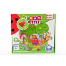 Roter Käfer Pěnové puzzle 36 dílků Les