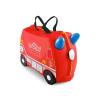 Trunki Kufřík + odrážedlo hasičský vůz Frankie