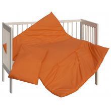 Scarlett souprava do postýlky 2dílná - Vega oranžová 135x100 cm