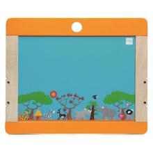 Scratch Dřevěná tabule na kreslení Safari oboustranná
