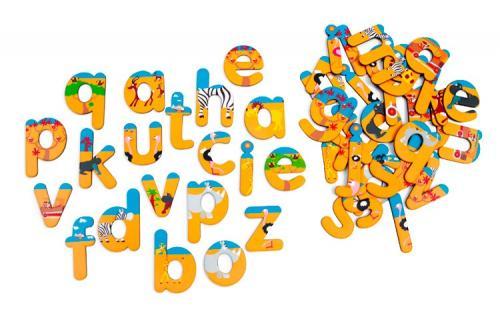 Scratch Magnetická abeceda Safari