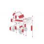 V ceně kočárku je: podvozek, hluboká korba, sportovní nástavba, nánožníky (na hlubokou korbu, na sportovní nástavbu), taška na rukojeť, pláštěnka a moskytiéra, nákupní košík + autosedačka Camarelo Carlo, adaptéry pro připevnění ke konstrukci kočárku. Kombinovaný dětský kočárek Camarelo Vision 2017-2018 je bezpečný, prostorný, s moderním designem a bohatou výbavou.